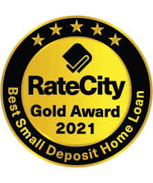 Rate City 2021 award for best small deposit