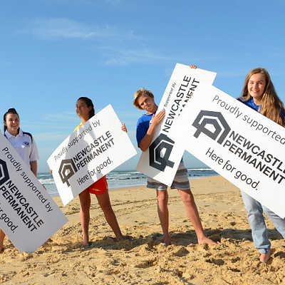Newcastle Permanent is helping keep beaches safe