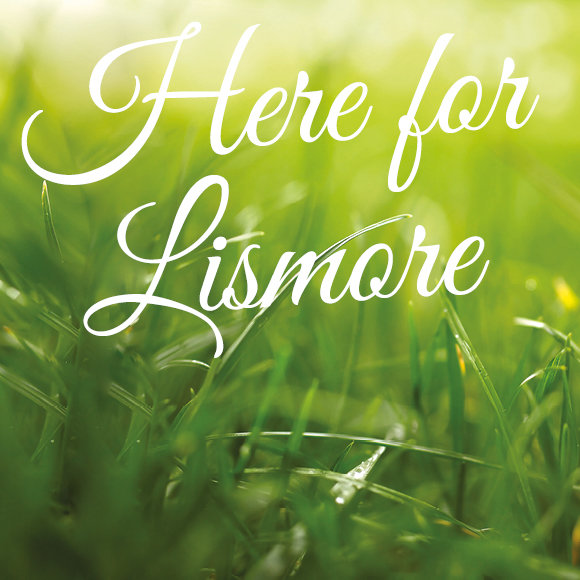 Lismore branch sign