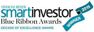 Smart Investor award - decade of excellence