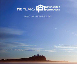 Newcastle Permanent Annual Report 2013