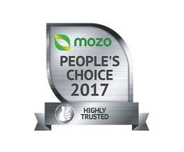 Mozo Highly trusted award 2017