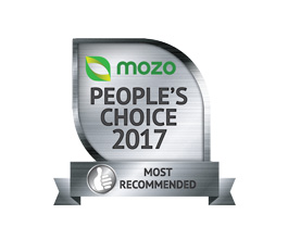 Mozo most recommended award 2017